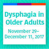 Dysphagia in Older Adults