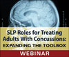 SLP Roles for Treating Adults With Concussions: Expanding the Toolbox (Live Webinar)