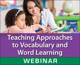 Teaching Approaches to Vocabulary and Word Learning