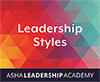 Leadership Academy: Leadership Styles