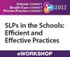 SLPs in the Schools: Efficient and Effective Practices