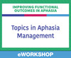 Topics in Aphasia Management