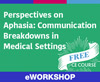 Perspectives on Aphasia: Communication Breakdowns in Medical Settings (On Demand Webinar)