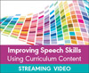 Improving Speech Skills Using Curriculum Content