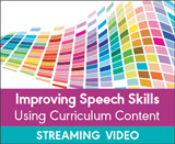 Improving Speech Skills Using Curriculum Content