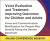 Voice and Communication Modification for People Who Identify Along the Gender Spectrum