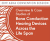 Overview & Case Studies of Bone Conduction Hearing Devices Across the Life Span