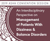 An Interdisciplinary Perspective on Management of Patients With Dizziness & Balance Disorders