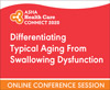 Differentiating Typical Aging From Swallowing Dysfunction