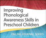 Improving Phonological Awareness Skills in Preschool Children