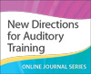 New Directions for Auditory Training