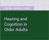 Hearing and Cognition in Older Adults