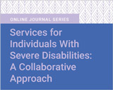 Services for Individuals With Severe Disabilities: A Collaborative Approach