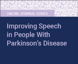 Improving Speech in People With Parkinson's Disease