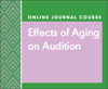 Effects of Aging on Audition