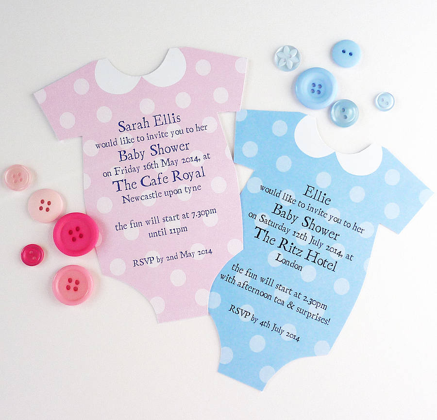 Coolest baby shower invitations in 2018