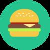 Burger flat
