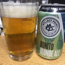 Ballast Point Brewing Bonito Blonde Ale Reviewed
