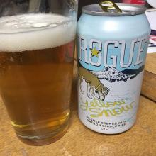 Rogue Brewing Yellow Snow Beer Review