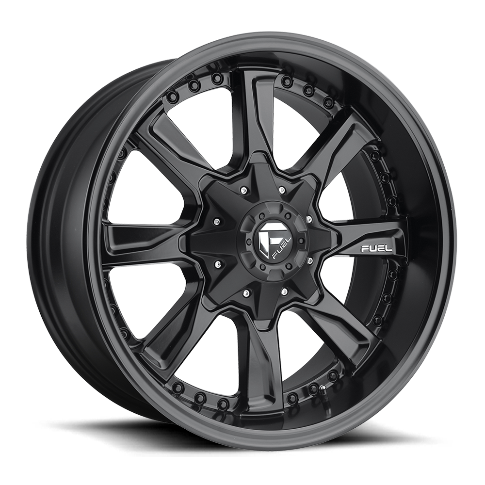 Fuel Offroad Wheels Fuel Offroad D604 Hydro Matte Black