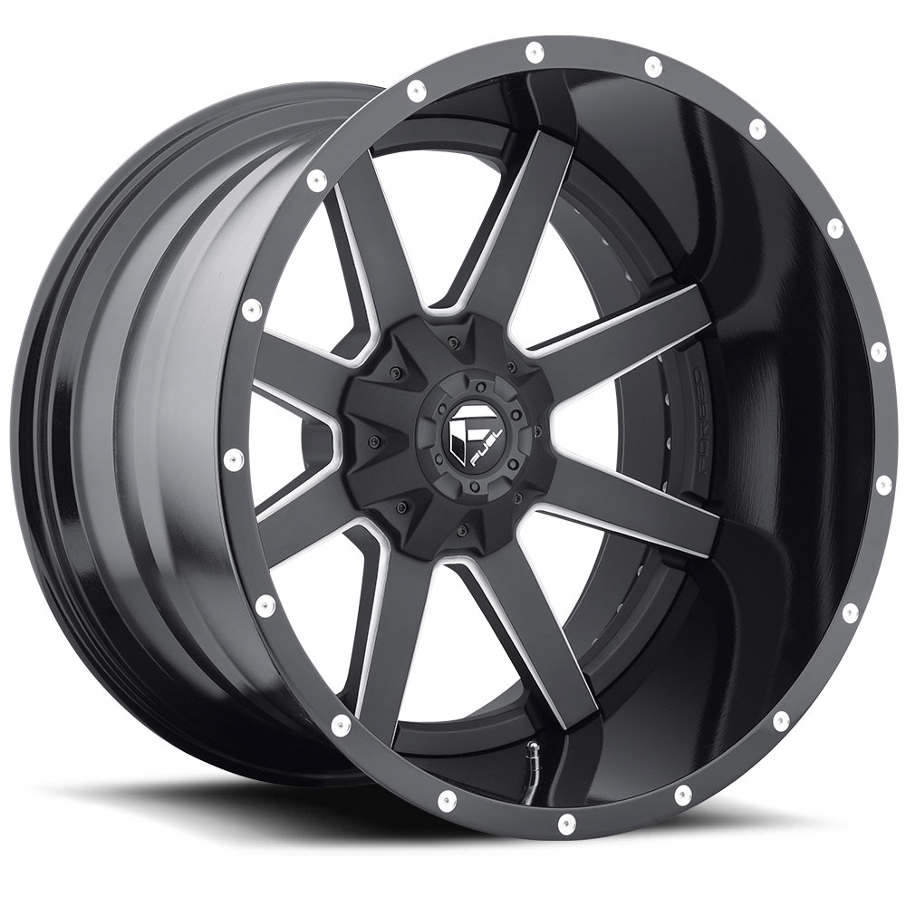 Fuel Offroad Wheels Fuel Offroad D262 Maverick Black and Milled