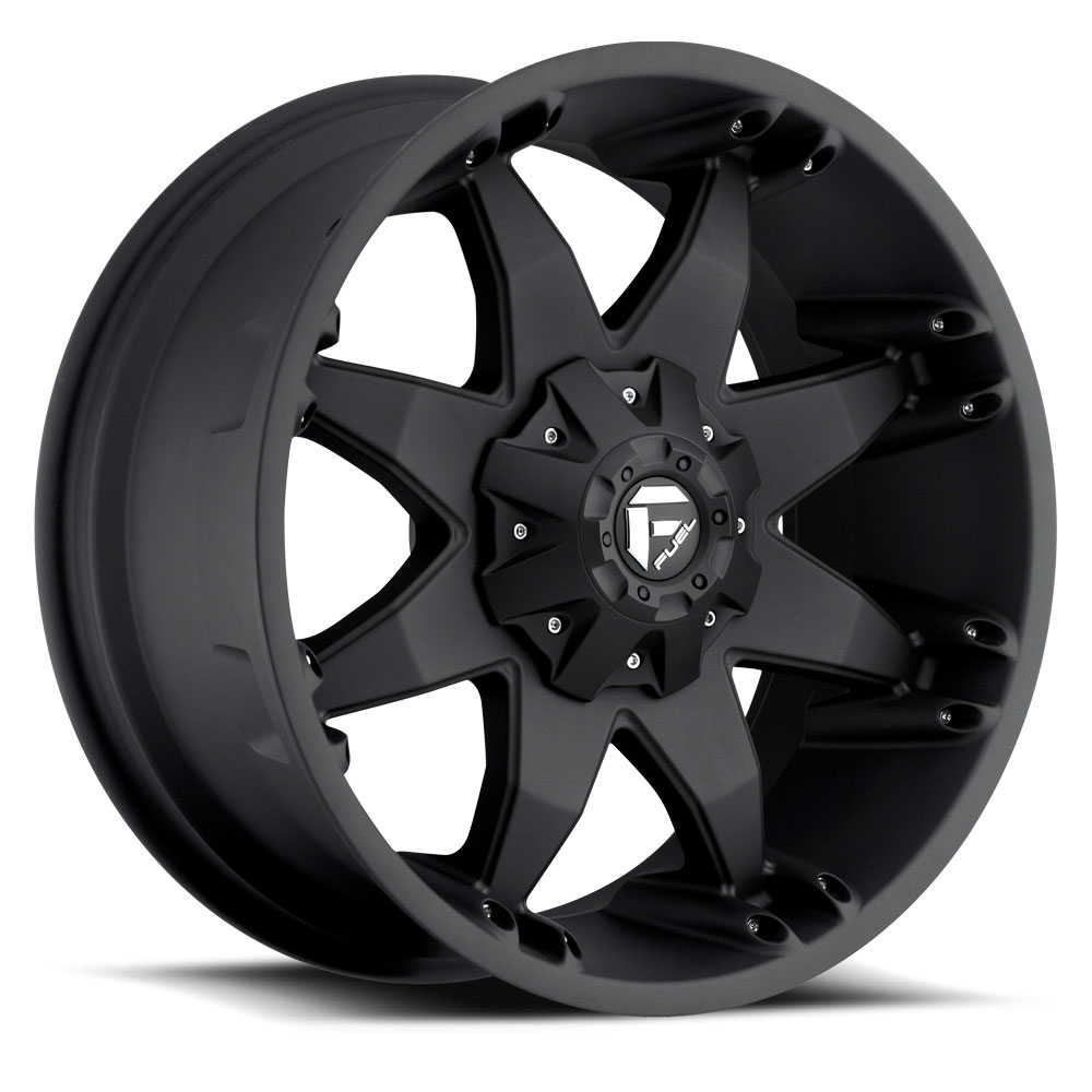 Fuel Offroad Wheels Fuel Offroad D509 Octane Matte Black