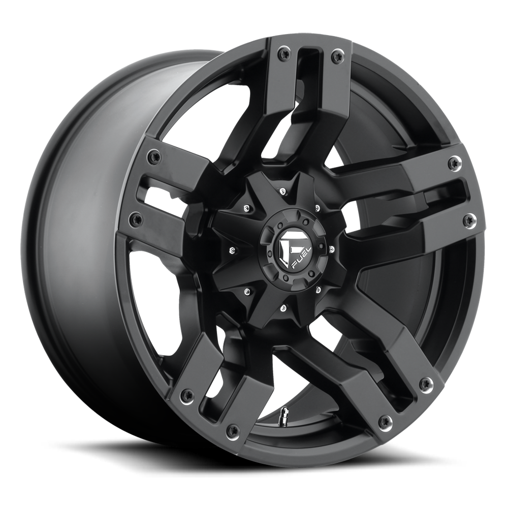18x9 Fuel Offroad Wheels Fuel Offroad D515 Pump Matte Black