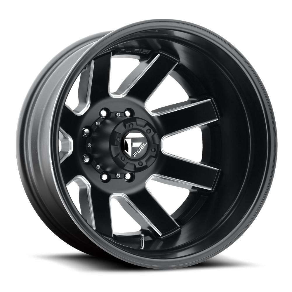 Fuel Offroad Wheels Fuel Offroad D538 Maverick Dualie Rear Black and Milled