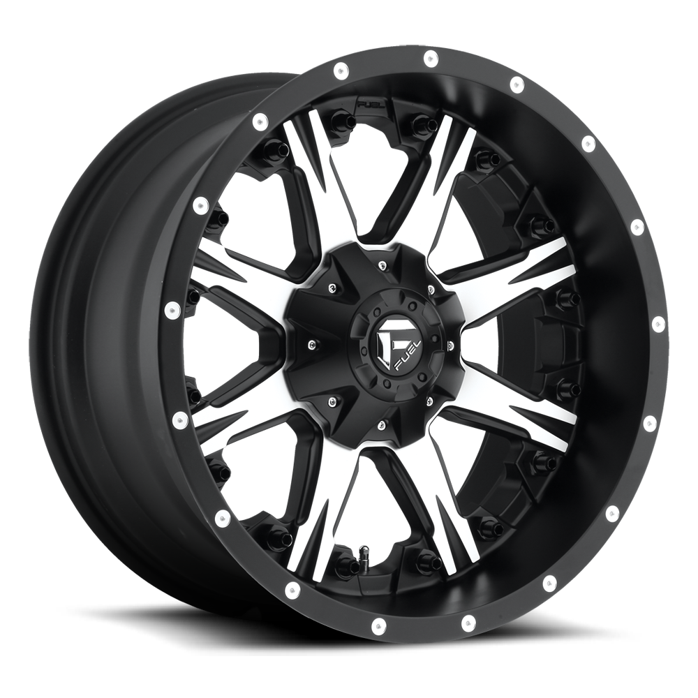 Fuel Offroad D541 Nutz Black/Machined