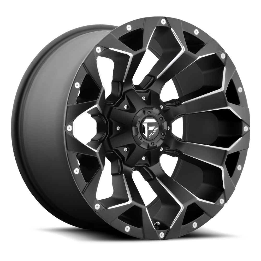 Fuel Offroad D546 Assault Black and Milled