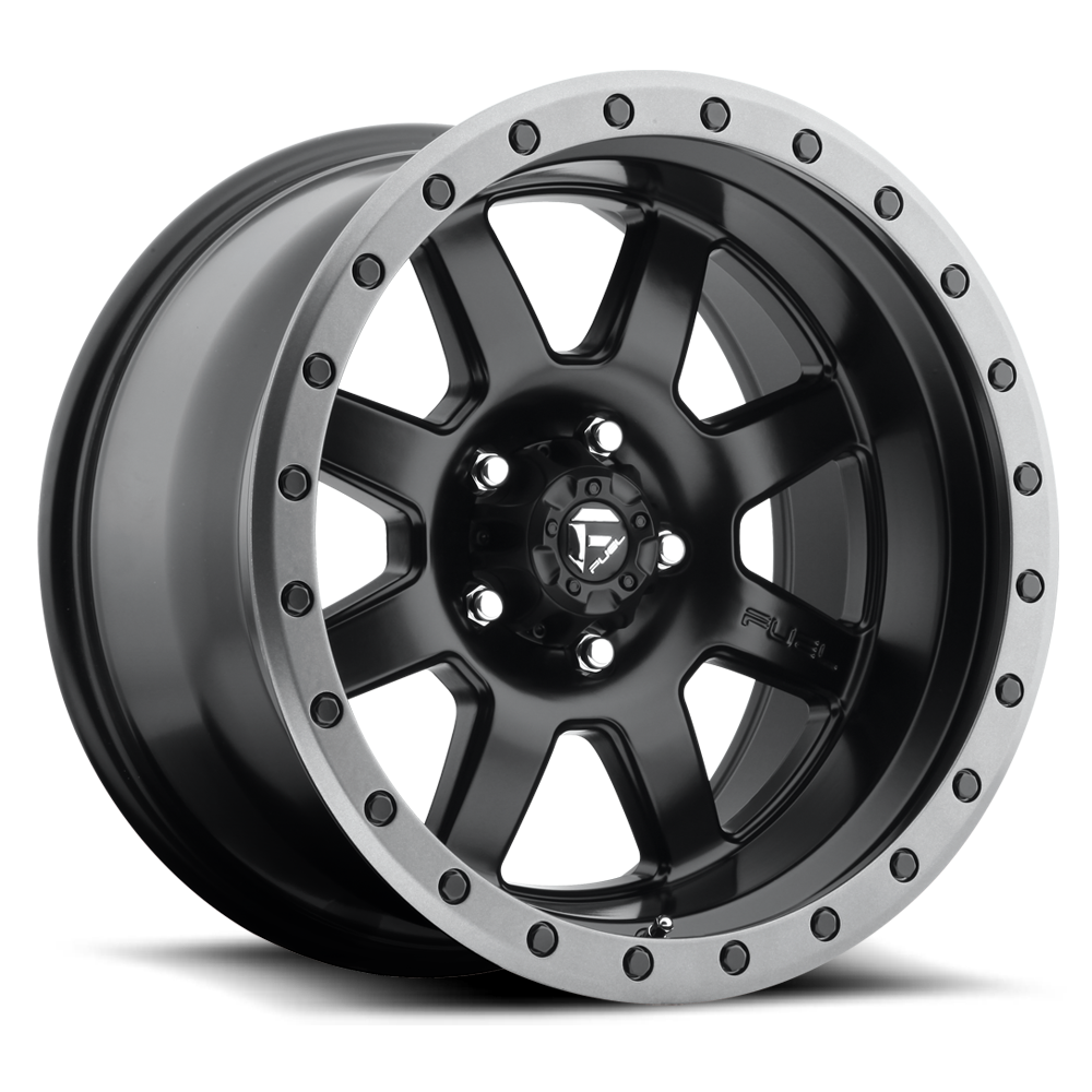 Fuel Offroad Wheels Fuel Offroad D551 Trophy Matte Black