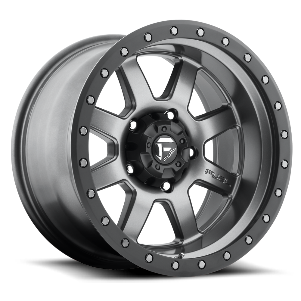 17x8.5 Fuel Offroad Wheels Fuel Offroad D552 Trophy Anthracite