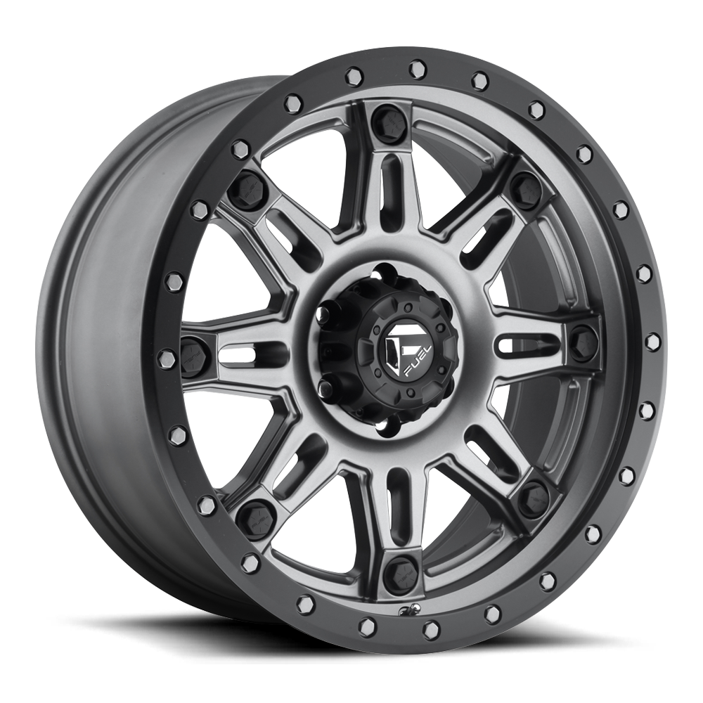 18x9 Fuel Offroad Wheels Fuel Offroad D568 Hostage III Anthracite