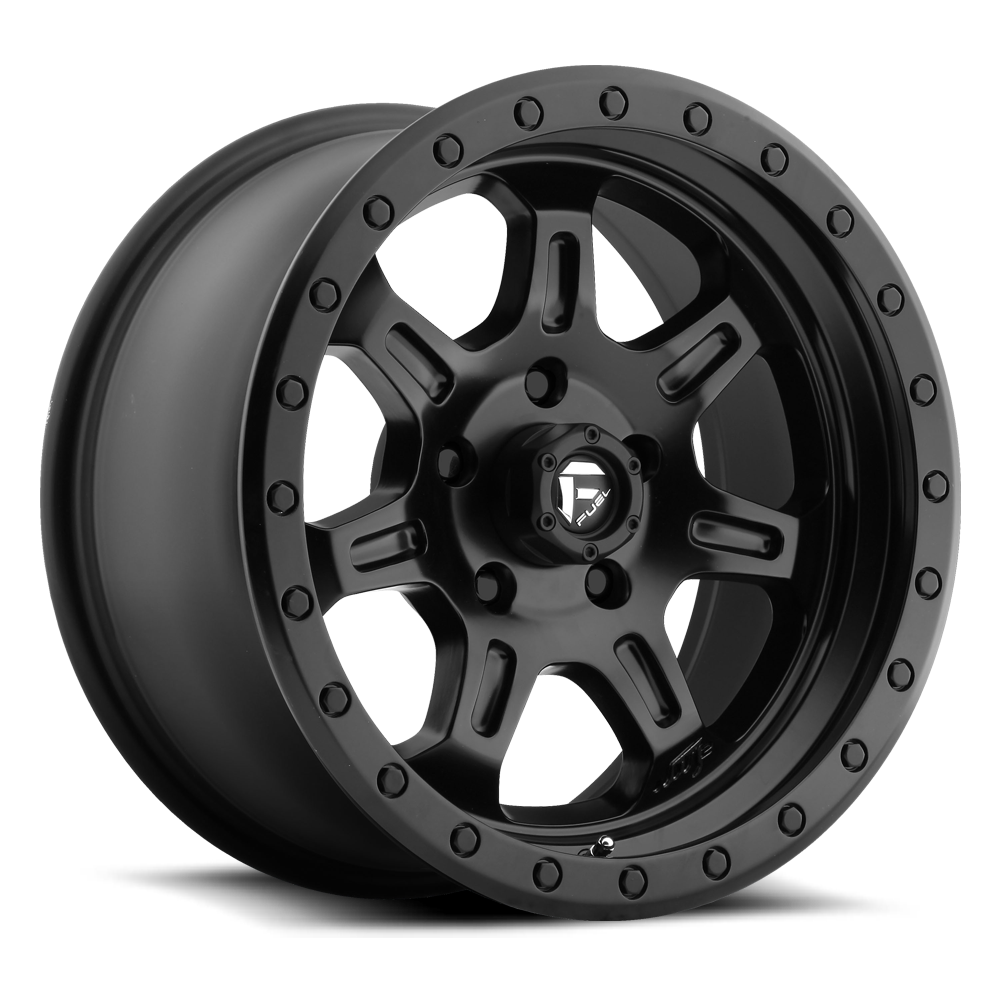 17x8.5 Fuel Offroad Wheels Fuel Offroad D572 JM2 Matte Black