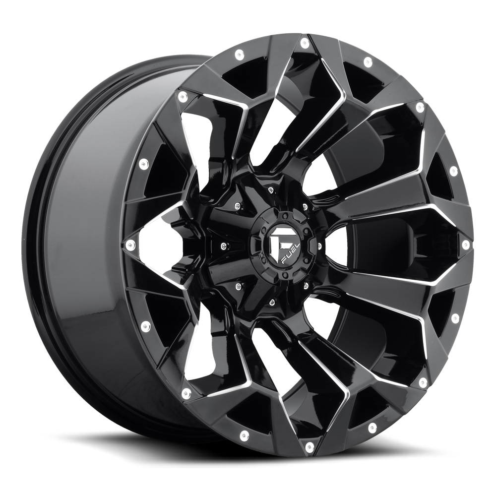 Fuel Offroad Wheels Fuel Offroad D576 Assault Black and Milled