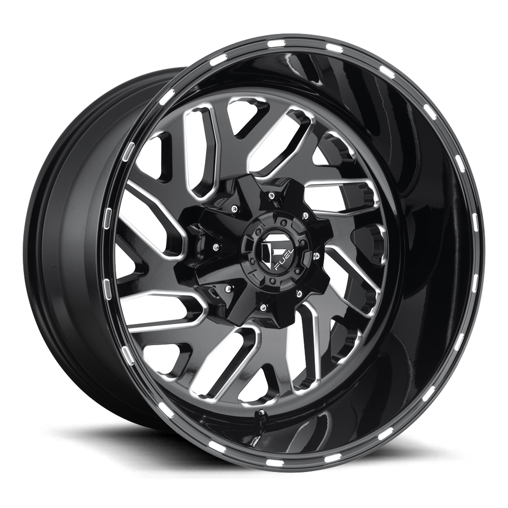 Fuel Offroad Wheels Fuel Offroad D581 Triton Black and Milled