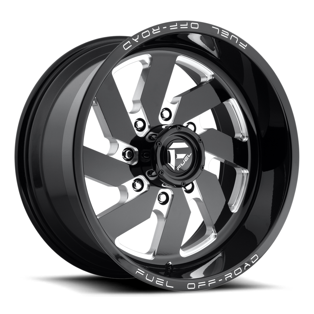 Fuel Offroad Wheels Fuel Offroad D582 Turbo Black and Milled