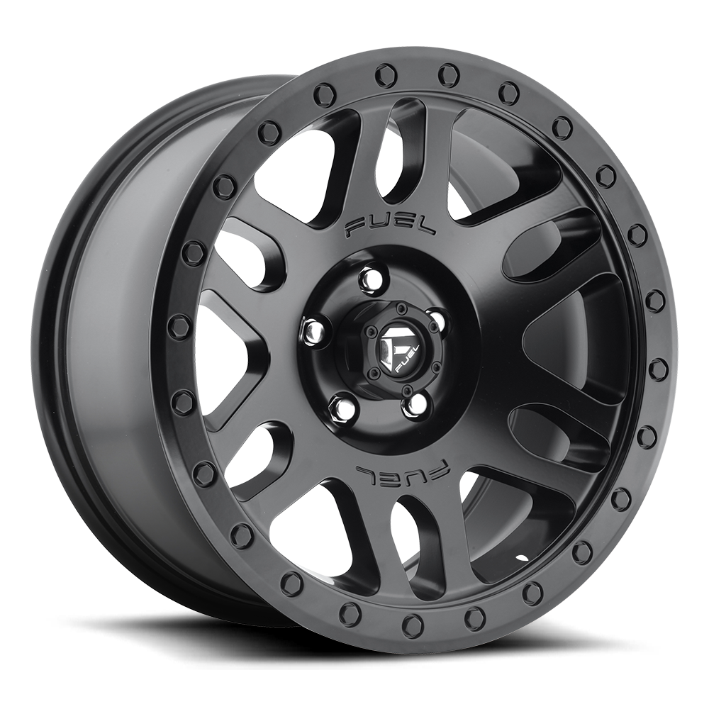 Fuel Offroad D584 Recoil Matte Black