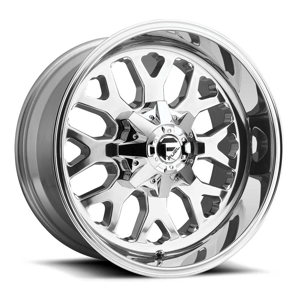Fuel Offroad Wheels Fuel Offroad D586 Titan Polished
