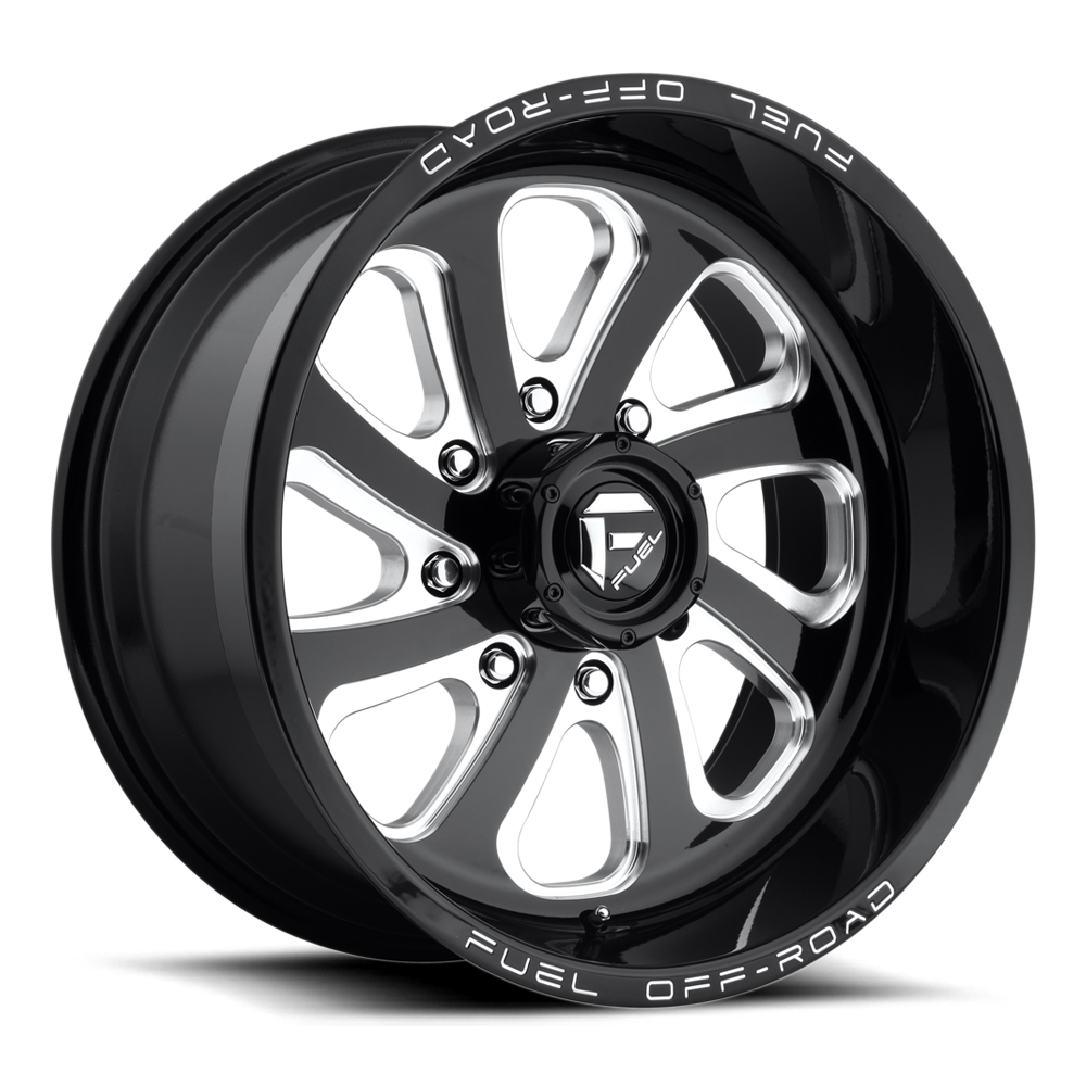 Fuel Offroad D587 Flow Black and Milled