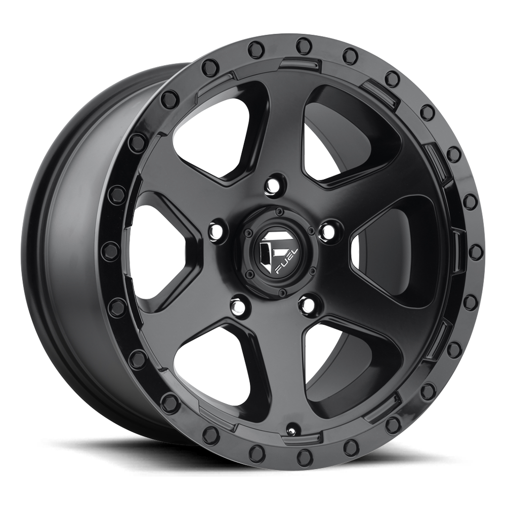 Fuel Offroad D589 Ripper Matte Black