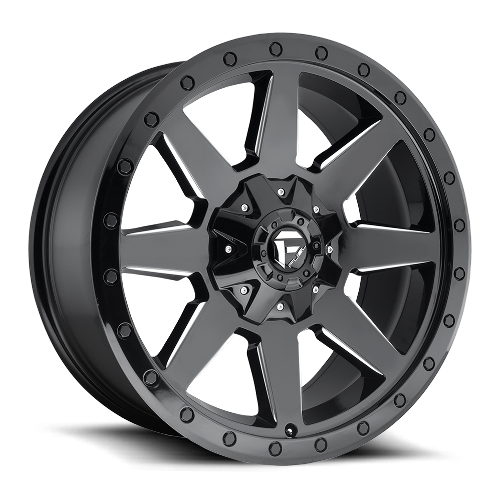 Fuel Offroad Wheels Fuel Offroad D597 Wildcat Black and Milled