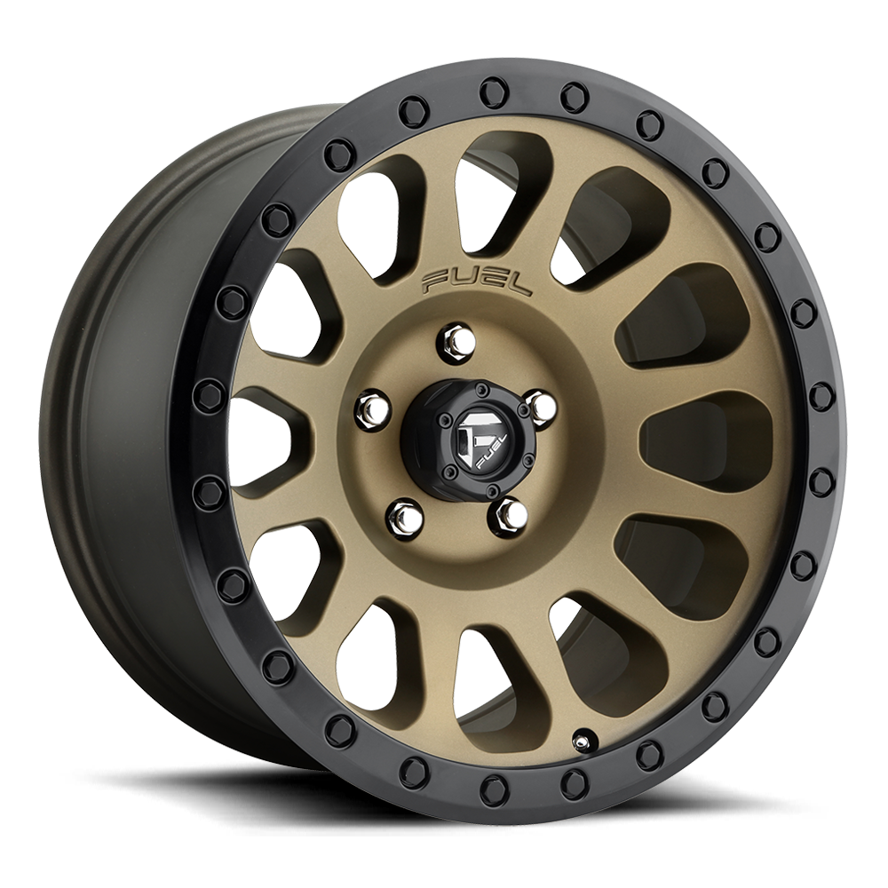 Fuel Offroad Wheels Fuel Offroad D600 Vector Bronze