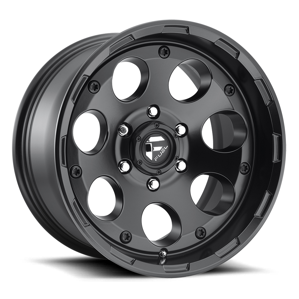 Fuel Offroad Wheels Fuel Offroad D608 Enduro Matte Black