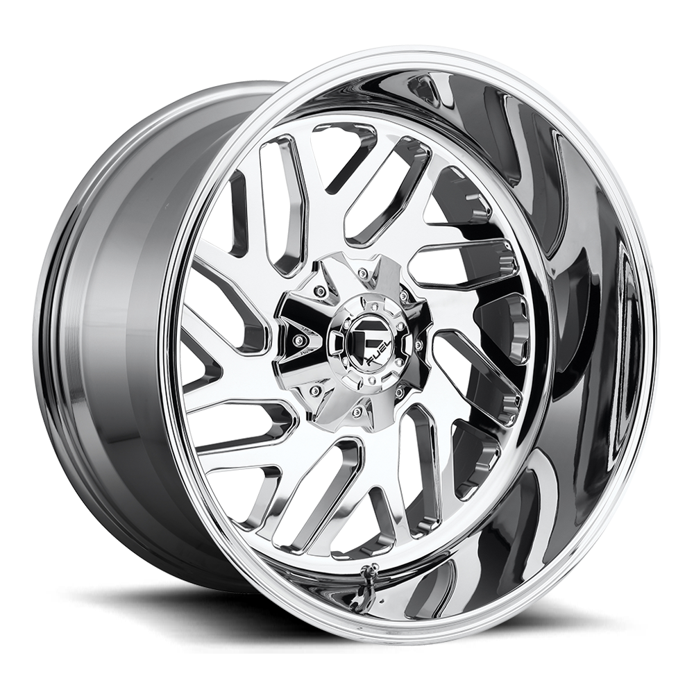 Fuel Offroad Wheels Fuel Offroad D609 Triton Chrome