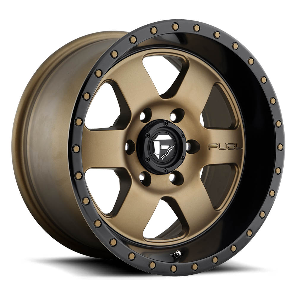 Fuel Offroad Wheels Fuel Offroad D617 Podium Bronze