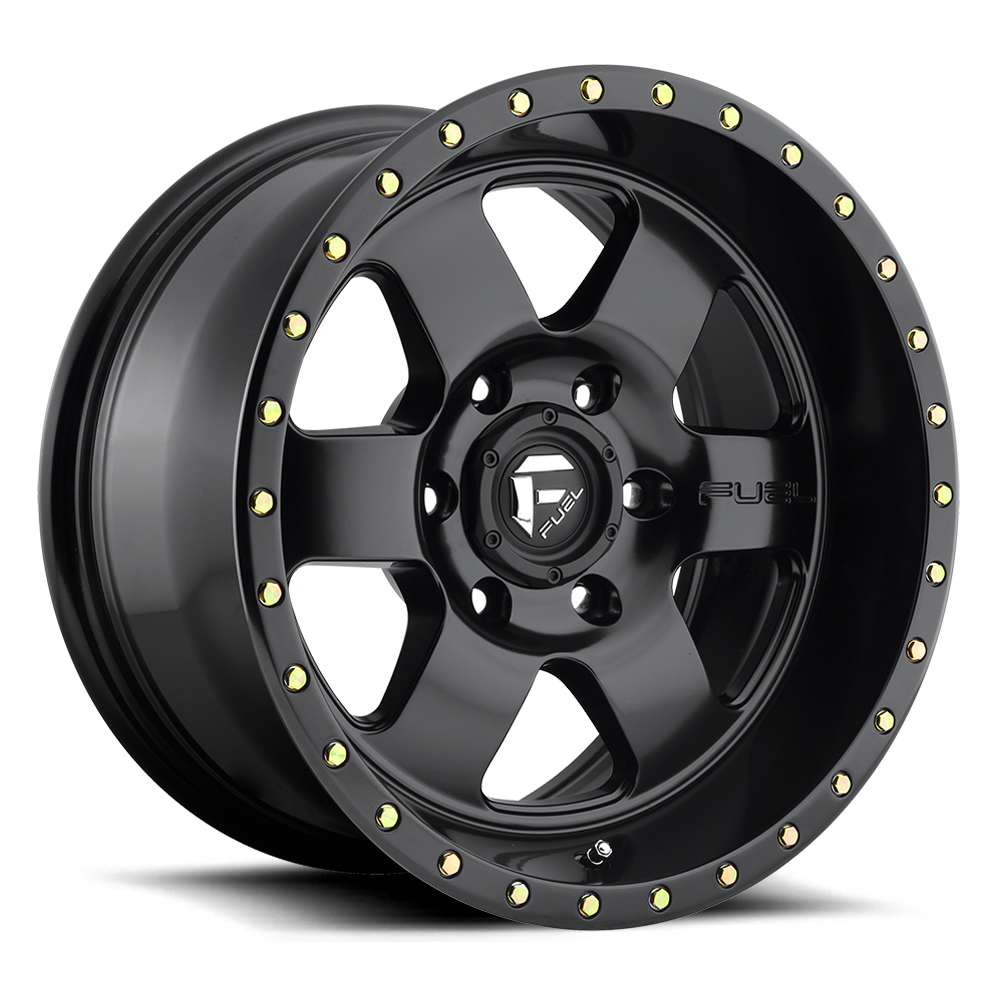 Fuel Offroad D618 Podium Matte Black