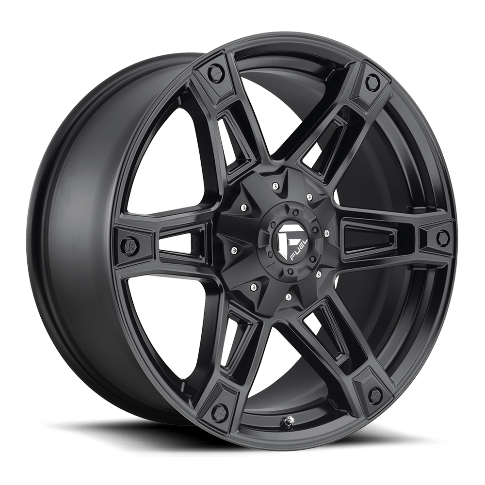 Fuel Offroad Wheels Fuel Offroad D624 Dakar Matte Black