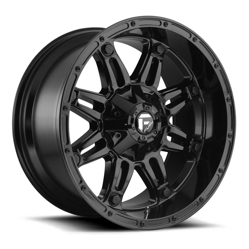Fuel Offroad Wheels Fuel Offroad D625 Hostage Gloss Black