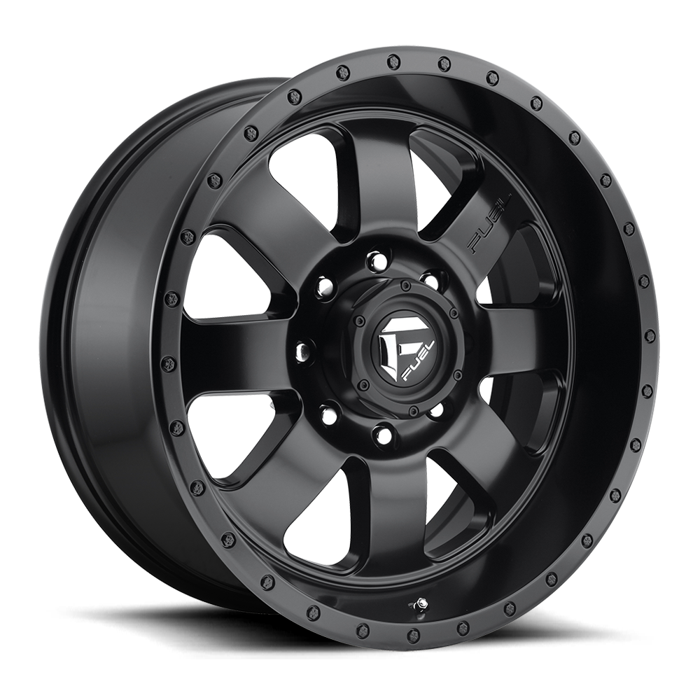 Fuel Offroad Wheels Fuel Offroad D626 Baja Matte Black